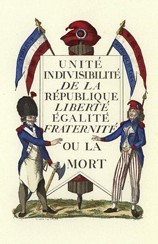 Facsimile of a Republican placard