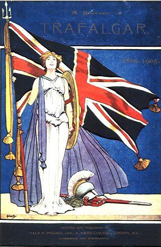 Britannia, an iconic symbol of the British Empire