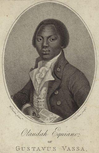 A portrait of Olaudah Equiano