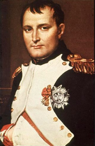 Portrait of Napoleon Bonaparte