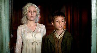 Pip meets Miss Havisham at Satis House
