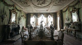 Miss Havisham's breakfast room at Satis House