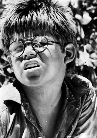what does piggys glasses symbolize in lord of the flies