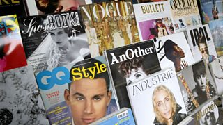 A selection of fashion and style magazines