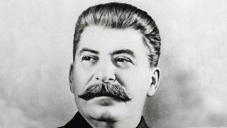 Photo of Joseph Stalin, Soviet communist leader.