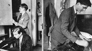 Boys at boarding school