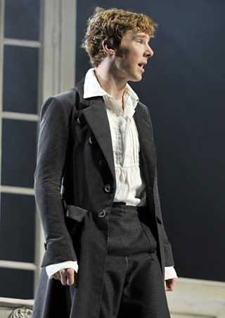 Victor Frankenstein, as played by Benedict Cumberbatch on stage