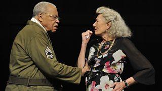 James Earl Jones and Vanessa Redgrave perform as Benedick and Beatrice