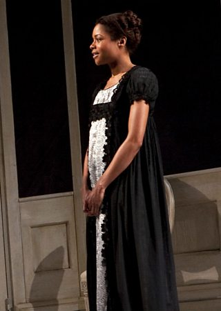 Elizabeth Lavenza, as played by Naomi Harris on stage