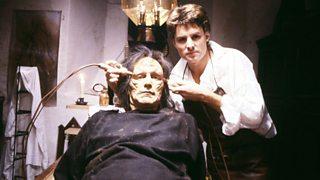 Frankenstein creates his monster