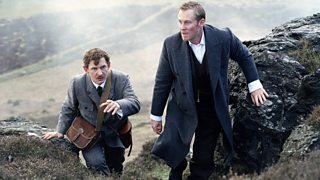 Holmes and Watson follow Toby the dog