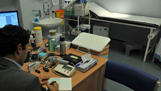 Interior of a GP's surgery