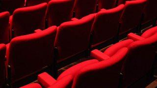 Empty seats in a cinema