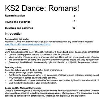 School Radio - Dance: Key Stage 2 - Dance Workshop, Romans