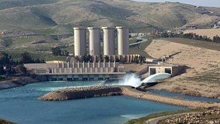The Mosul dam in Iraq