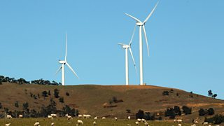 Wind turbines - a renewable source of energy