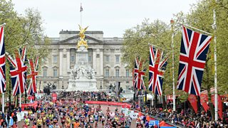 Buckingham Palace and The Mall