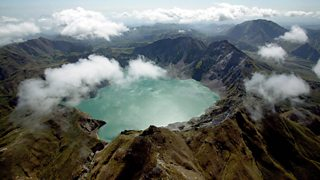 Mount Pinatubo is a composite volcano
