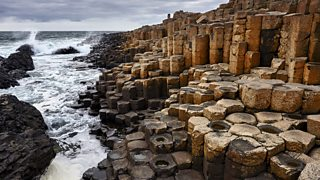 Giant's Causeway, Northern Ireland. Igneous rock