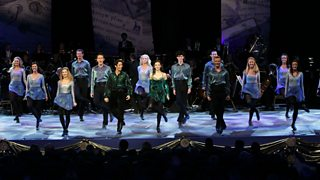 Riverdance being performed