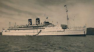 Arandora Star sunk by German Uboat transporting German and Italian pow in July 1940
