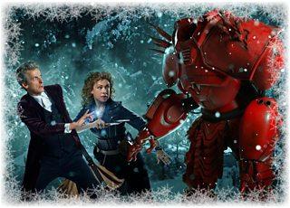 Doctor Who Christmas Cards.Bbc Latest News Doctor Who The Christmas Cards Of River Song