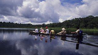 Ecotourism on the Amazon river