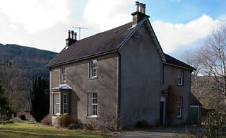 A Church of Scotland Manse house