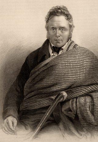 Writer James Hogg (1770-1835)