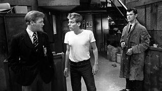 Alan meets the Slab Boys Phil and George 'Spanky' Farrell