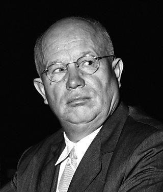 Portrait of Nikita Khrushchev