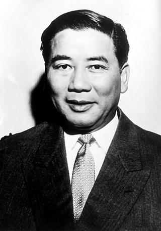 Portrait of Ngo Dinh Diem