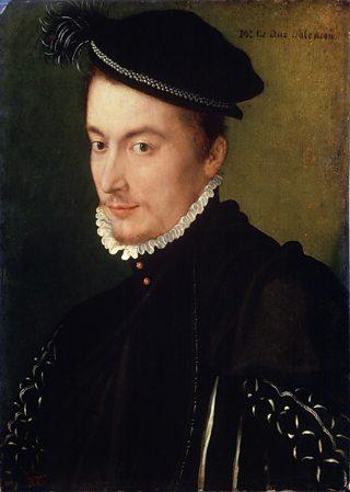 Portrait of Francois De Valois - Duke of Alencon