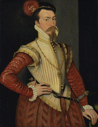 Portrait of Robert Dudley