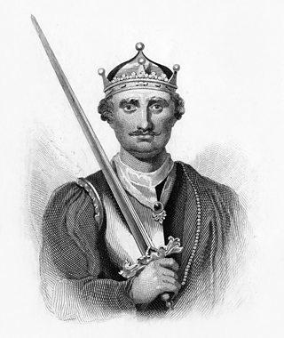 Portrait of King William I