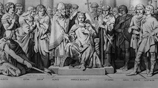 Coronation of King Harold II