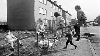 Ferguslie Park housing estate near Paisley in 1988