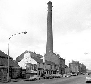 Stoddart's Carpet Factory (St Mirren Works), Caledonia Street, Paisley, Renfrewshire
