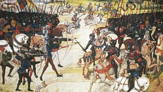 Image depicting the Battle of Poitiers