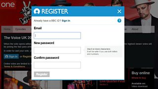 BBC One - The Voice UK - How to vote online