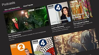 Photograph of BBC popular podcasts