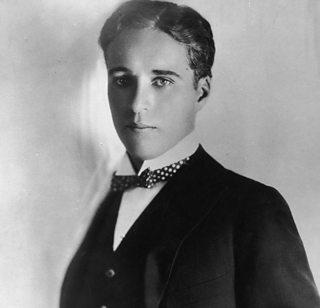 Photograph of Charlie Chaplin.