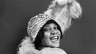Photograph of Bessie Smith.