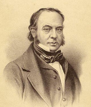 A portrait of Isambard Kingdom Brunel