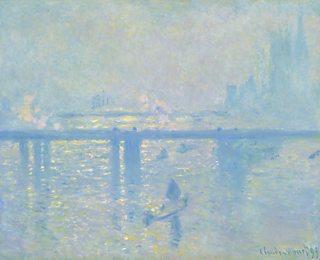 Charing Cross Bridge, Claude Monet, 1899, oil on canvas