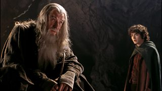 """""""Gandalf and Frodo from Lord of the Rings"""""""
