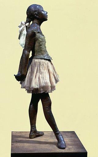 Little Dancer, Edgar Degas, 1879-81 (cast 1921), bronze, gauze and satin ribon, The Art Archive / AlamyStock Photo