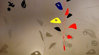 Cascading Flowers, Alexander Calder, 1949, painted metal, painted wire, and wire, Scott Warren / AlamyStock Photo