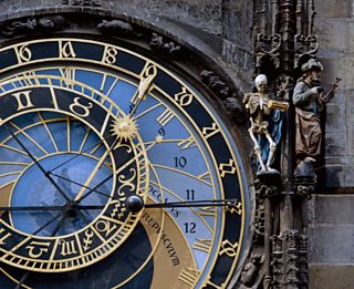 Astronomical Clock, Prague, Mikulas of Kadan and Jan Sindel, 1410, Peter Scholey / Alamy Stock Photo