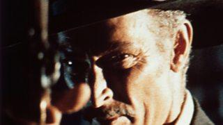 Lee Van Cleef as Col Douglas Mortimer in For A Few Dollars More